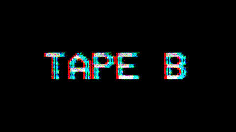 VHS Element - Tape B Animation