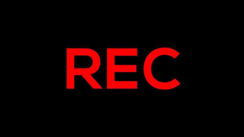 Camera Screen Element - Rec 2 Animation