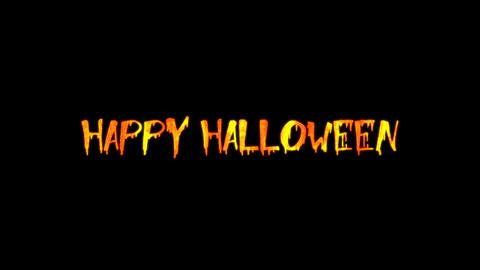 Halloween Text 02 Animation