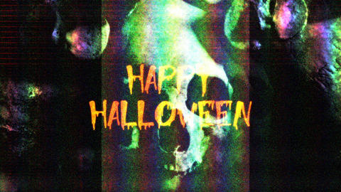 Halloween with Text Animation