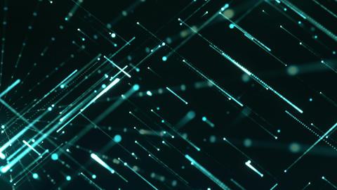 Grid Light Streaks 16 Videos animados