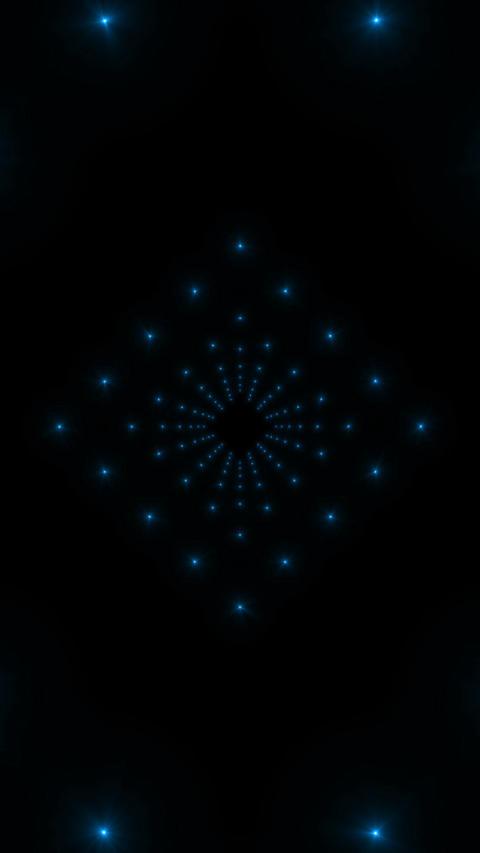 VJ Blue Animation