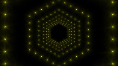 Flash LED Yellow Animation