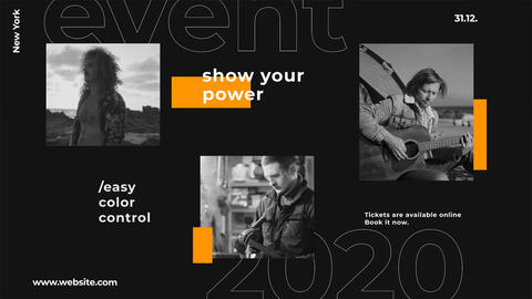 Event Slides After Effects Template