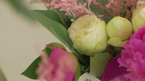 Wedding Floristics Closeup GIF