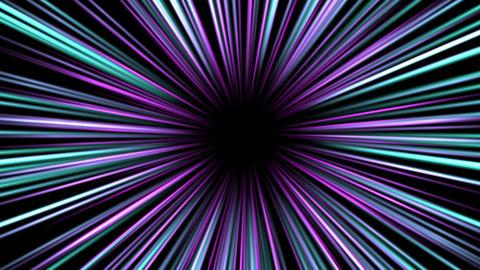 ズームやワープの効果線の4kエフェクト動画 CG動画