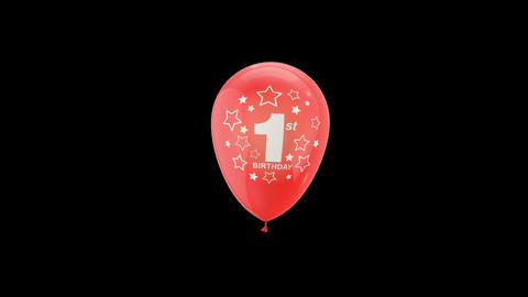 Birthday Celebrations - Balloons With Birthday Numbers 11 Live Action
