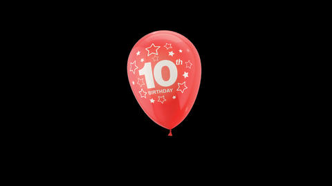Birthday Celebrations - Balloons With Birthday Numbers 20 Live Action