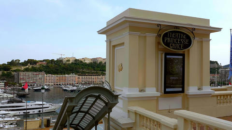 Theatre Princess Grace in Monaco - CITY OF MONTE CARLO, MONACO - JULY 11, 2020 Live Action