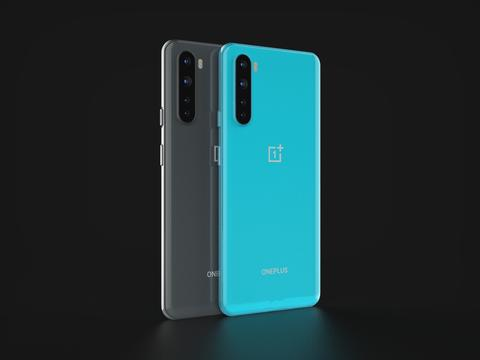 OnePlus Nord In All Official Colors 3D Model