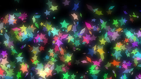Shining Stars VJ Loop Animation