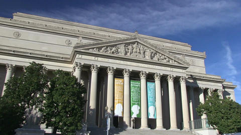 The National Archives in Washington, DC Live Action