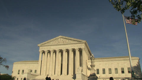 The United States Supreme Court in Washington, DC Live Action