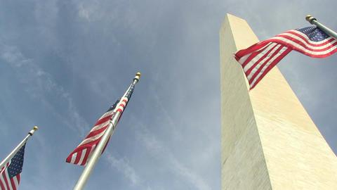 The Washington Monument in Washington, DC Footage