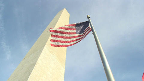 The Washington Monument in Washington, DC, Live Action