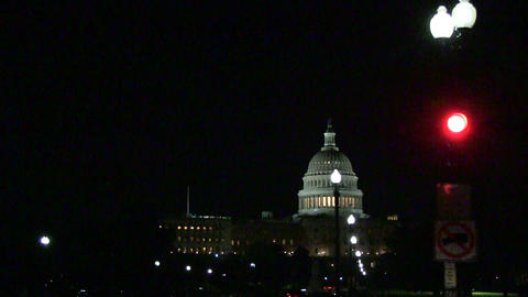 The US Capitol in Washington, DC Footage