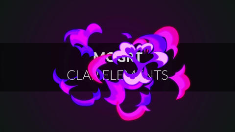 MOGRT - Clap Elements Motion Graphics Template