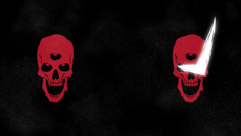 Premiere Pro - Skull Logo Opener Plantillas de Premiere Pro