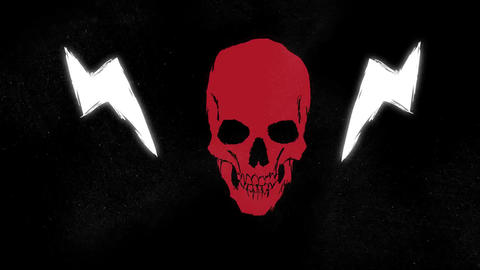 Premiere Pro - Skull Logo Opener Premiere Pro Template