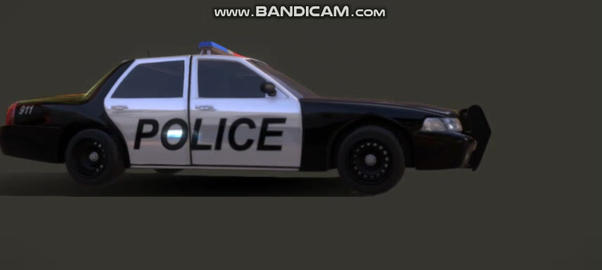 Ford crown victoria police interceptor Modelo 3D