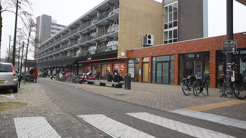 Entrance Diemen Shopping Mall At Diemen The Netherlands 2019 Live Action