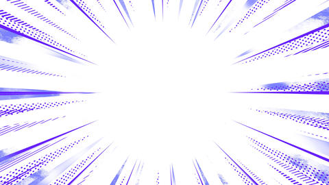 Violet Radial Line Animation Animation