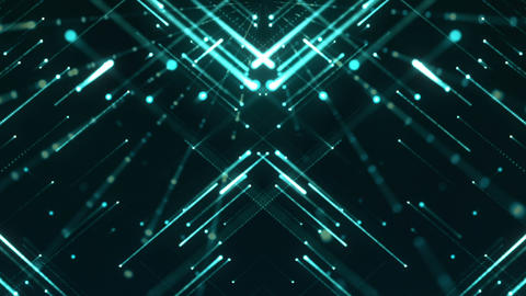 Grid Lights 07 Videos animados