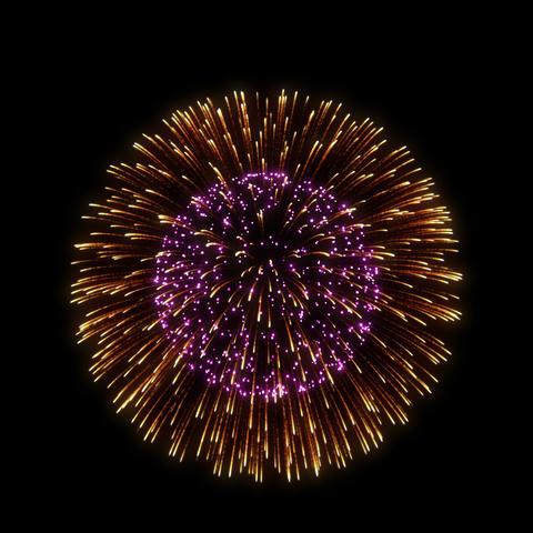 Fireworks Shiniri 01 ProRes Animation