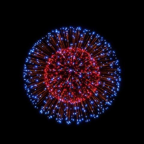 Fireworks Shiniri 03 ProRes Animation