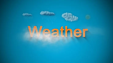 Weather Forecast After Effects Projekt