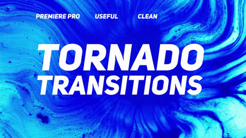 Tornado Transitions Premiere Proテンプレート
