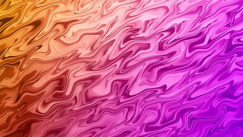 Liquid Waves Abstract Colorful Background Animation