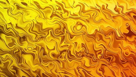 Orange Liquid Smooth Abstract Background Animation