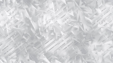 Polygons and Lines White Geometric Abstract Background Animation