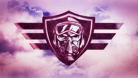 Sky Aces Aviators Intro Logo Animation Background Videos animados