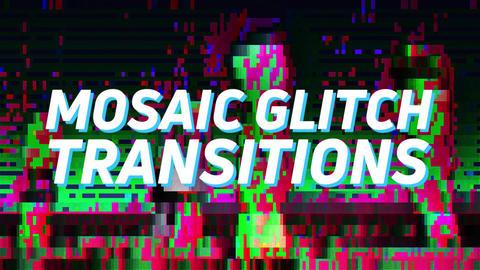 Mosaic Transitions Premiere Pro Effect Preset