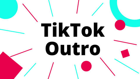 TikTok Outro - Gain more Followers with a Call to Action Outro! Plantilla de After Effects