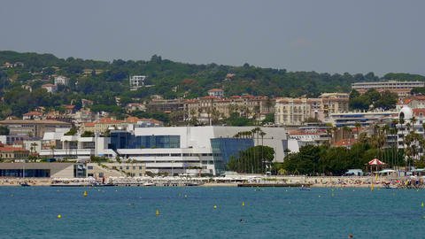 Festival Palace in Cannes - home of the annual film festival - CITY OF CANNES Live Action
