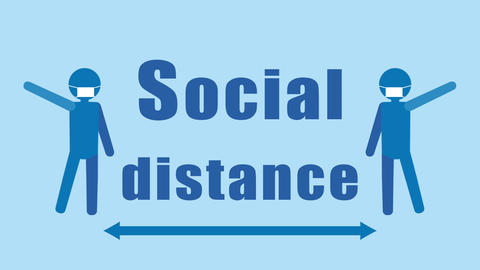 Social-distance-2 Animation