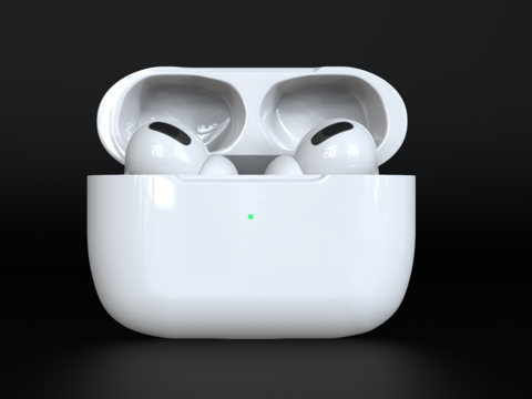 AirPods Pro 3Dモデル