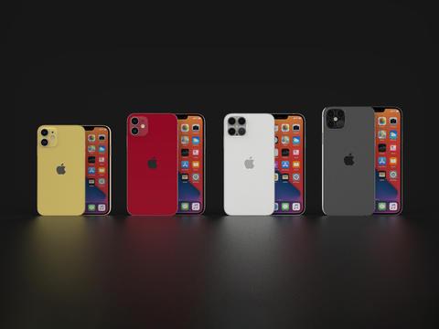 IPhone 12 All Models (Concept) 3D Model