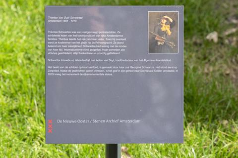 Billboard Grave Johannes Hermanus Albregt At The Nieuwe Ooster At Amsterdam The Netherlands 2020 フォト