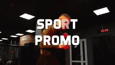Sport Promo Motivational After Effects Template