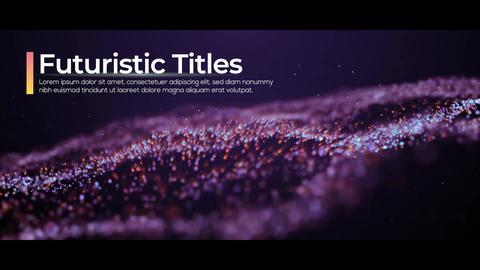 Futuristic Titles Premiere Pro Template