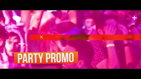 Party Glitch Promo Premiere Proテンプレート