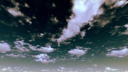 Heavenly Stormy Afternoon Timelapse Clouds Animation