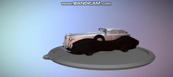 Old Car Vintage 3D Model