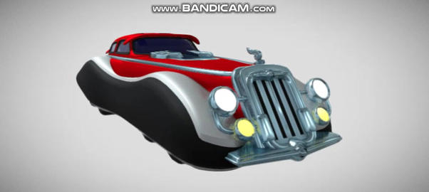 8 wheels car Modelo 3D
