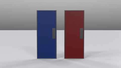 Door02 3D Model