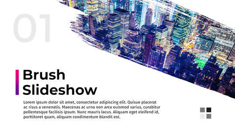 Brush Slideshow Premiere Pro Template